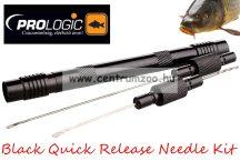 fűzőtű - Prologic Black Quick Release Needle Kit Small 3in1 fűzőtű készlet  (45741)