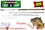 Carp Zoom Feeder Competition Carp Feeder 390cm 60-160g  3+3 részes feeder bot (CZ6759)