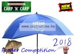 Carp Zoom Feeder Competition V Umbrella   V-bevágású horgászernyő UV (250cm átmérő) (CZ7329)