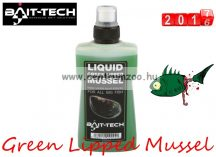 Bait-Tech Liquid Green Lipped Mussel zöld kagyló aroma 250ml (2500041)