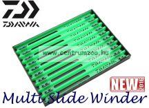 Daiwa Multi Slide Winder mm szerelék tartó létra szett 10db/csomag DMSW26GRN 199619