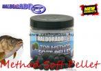 HALDORÁDÓ TOP Method Soft Pellet 8mm 80g - Black Squid