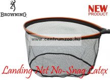 MERÍTŐFEJ  Browning Landing Net No-Snag Latex L 60x48cm (7029043)