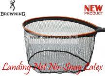 MERÍTŐFEJ  Browning Landing Net No-Snag Latex L 60x48cm (7029043)