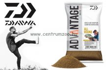 Daiwa Advantage Baits Feeder Fishing Groundbait All Round 1 kg etetőanyag (13300-002)