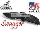 GERBER Swagger zsebkés szénacél pengével 0594