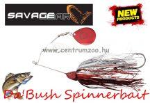 SAVAGE GEAR Da'Bush Spinnerbait 32g #3 Red Silver Flash Flame villantó (43640)
