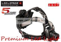 LED LENSER H14R.2-7299R 350lm 250m erős fényű tölthető fejlámpa