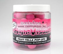 MAINLINE Baits High Visual Pop-Ups PINK FRUITTELLA 15mm 50db lebegő fluo bojli (M13002)