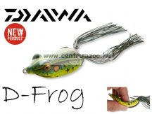 Daiwa D-Frog 6cm béka műcsali - green t (15605-106)