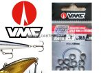 VMC Ring inox kulcskarikák 9mm 41,5kg 5-as 10db 3x erősség (3561)