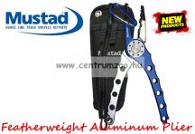 Mustad Featherweight Aluminum Plier horgász fogó (MT026)