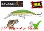 Savage Gear 3D Minnow Diver 9.5cm 19g F 03-Firetiger wobbler (57370)