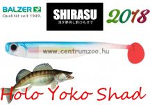 Shirasu Soft Lures Holo Yoko Shad gumihal 7,5cm (13632024) Blue Artic colours