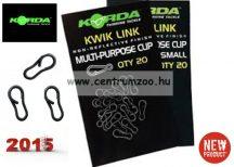 Korda Kwick Link 20db fémkapocs (KWLXS)