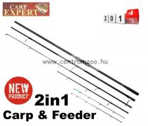 CARP EXPERT JUNIOR DOUBLE 2in1 TIP 3,0LBS 3,90M HEAVY bojlis - feeder bot (13394-390)