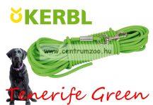 Kerbl Training Tenerife Green erős kiképző és futtató póráz 15m (81010)