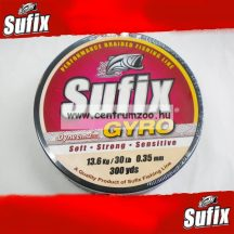 Sufix Gyro Braid fonott zsinór 0.50mm/60LB/27,2kg deep green 150m
