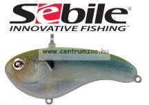 Sebile® Flatt Shad megbízható wobbler FS-077-SK - Green Back Ghost GBGH (1407727)