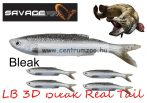 SAVAGE GEAR LB 3D Bleak Real Tail 13.5cm 14g 4pcs 01-Bleak gumihal (48736) küsz utánzat