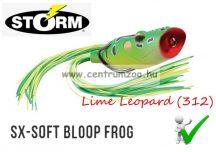 STORM SX-SOFT Bloop Frog 25 gumibéka 7cm 20g - Lime Leopard  (SXB25312)