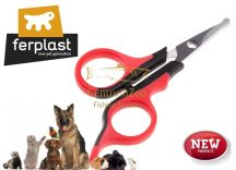 Ferplast GRO5997 Dog and cat shearing scissors prémium szőrvágó olló (85997800)