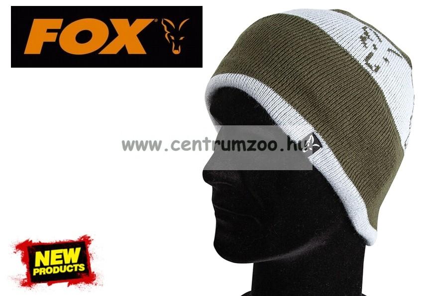 07d7b90122 Fox Green & Silver Beanie kötött sapka (CPR992) - Díszállat és ...