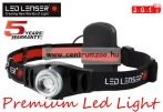 LED LENSER H5-7869TIB Led fejlámpa 3xAAA 25lm 70m - 2017NEW