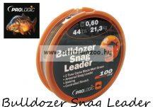 PROLOGIC Bulldozer Snag Leader 100m 44lbs 21.3kg 0.60mm Camo előtétzsinór (44687)