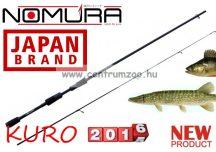 NOMURA Kuro Tubular Tip Spin 2,40m 5-25g  pergető bot (20252524)