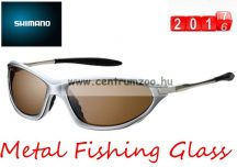 Shimano napszemüveg Metal Fishing Glass - Water Repellent (HG-071N) Brown Lens