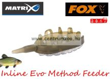 Fox Matrix Inline Evo Method Feeder 27g  feeder kosár (GFR148)