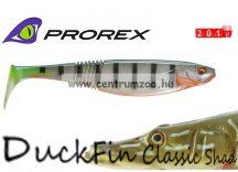 Daiwa Prorex DuckFin Classic Shad 100DF BB  prémium gumihal 10cm - Ghost Perch  (16721-001)