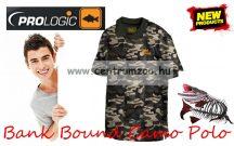 Prologic Bank Bound Camo Polo - galléros póló (54638 54639 54640 54641) több méret
