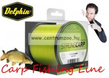 FIN STRONG CARP 1200m sárga 0,25mm 12,1lbs bojlis-feederes zsinór (500604525)