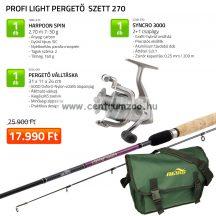 Nevis Profi Light Pergető szett 270cm 1282-270+ 2248-330+ 5254-001 (KB-470)