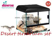 Diversa Reptil Terrárium Set Desert 30x25x25cm sivatagi terrárium szett (DIVDES30X25X25)