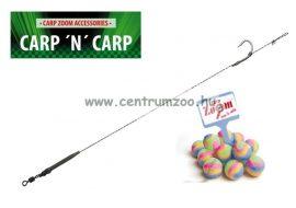 Carp'N'Carp Anti Eject Rig bojlis előke 20cm 2db (CZ1008 CZ1015 CZ1022)
