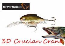 Savage Gear 3D Crucian Crank34 3.4cm 3g F SR 01-Natural (53764)