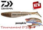 Daiwa Tournament D'swim gumihal pumpkin 6cm 8db (16506-906) UV Active