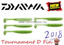 Daiwa Tournament D Fin Chartreuse Gumihal 12,5cm gumihal 5db (16500-312)