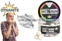Dynamite Baits bojli Hit n Run Pop-Ups - Bright White 15mm (DY1272)