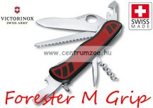 Victorinox Adventurer - Forester M Grip Black-Red zsebkés, svájci bicska  0.8361.MC