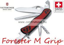 Victorinox Adventurer - Forester M Grip Black-Red zsebkés, svájci bicska  0.8361.MC