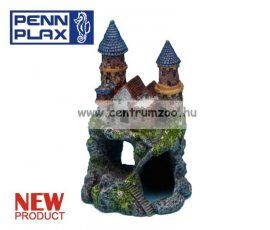 Penn Plax Deco Castle Blue dekorációs szobor akváriumba 14cm (027369)