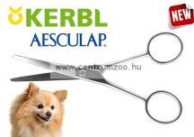 KERBL Aesculap Professional hajlított szőrzetvágó olló 130mm (VG043R)