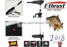 E-THRUST Premium Electric Engine elektromos csónakmotor 55lbs (14582) + PÓLÓ