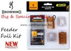Browning Big & Specimen Fish - Feeder Set - Full Kit kosár szett  (6678995)