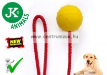 JK-Animals KÖTELES LABDA és kiképző kutyáknak 60mm 60cm (46216)