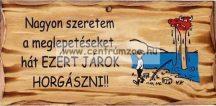 FATÁBLA NAGYON SZERETEM A MEGLEPETÉSEKET (TREF2-010)